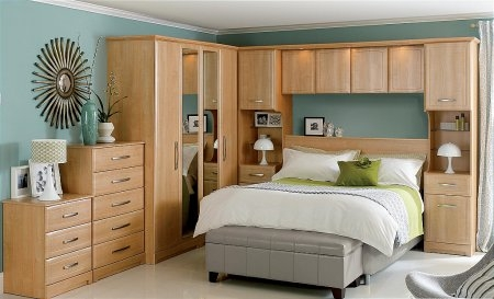 Overbed Fitted Bedroom Furniture Throughout Overbed Wardrobes (View 12 of 15)