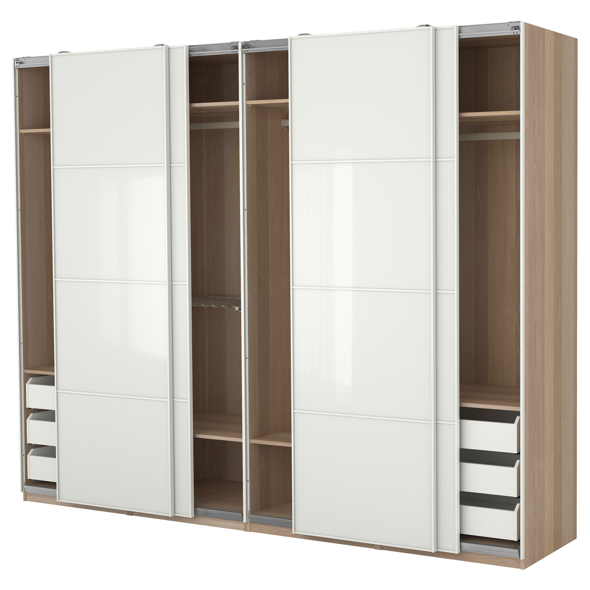 Solid Wooden Wardrobe Closets ~ Ideas of solid wood built in wardrobes