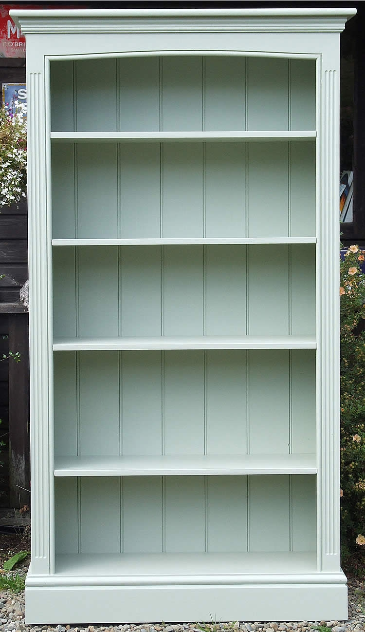 Painted Bookshelves Painted Bookcasespainted Bookshelvesfarrow With Regard To Freestanding Bookcase (#13 of 15)