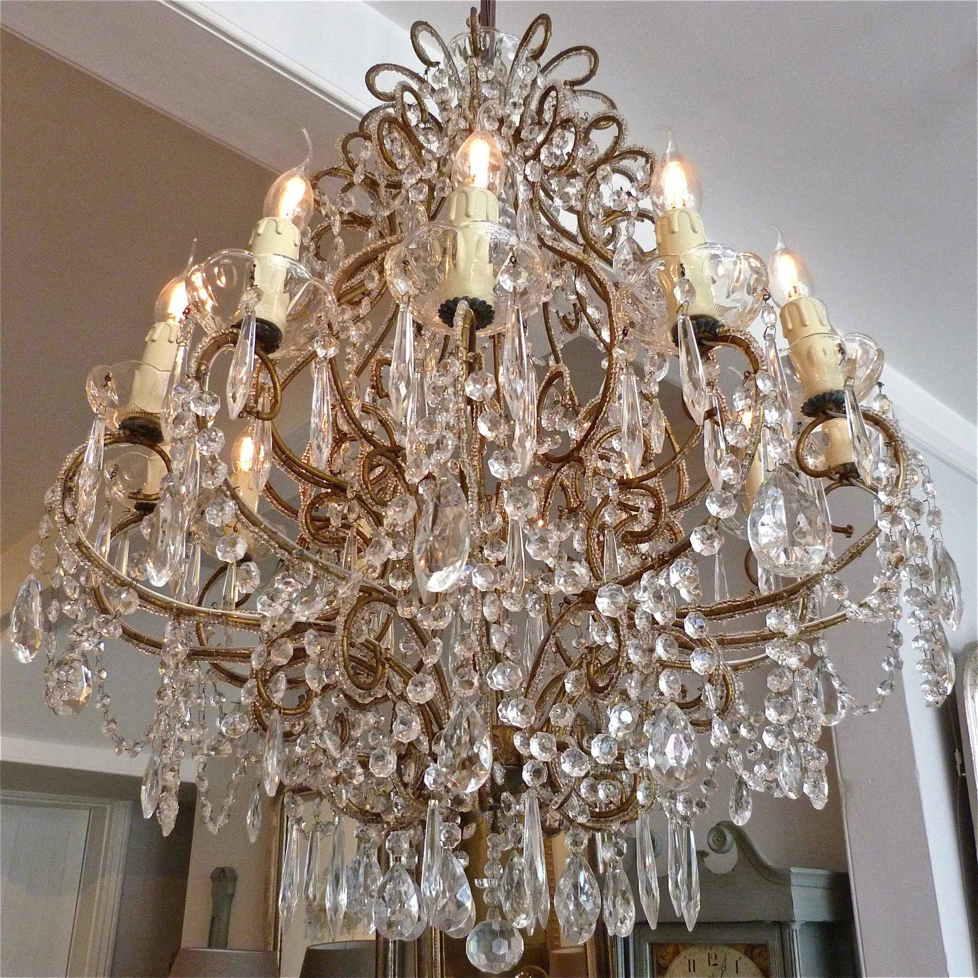Pair Of Italian Chandeliers Trendfirst Pertaining To Italian Chandeliers (#8 of 12)