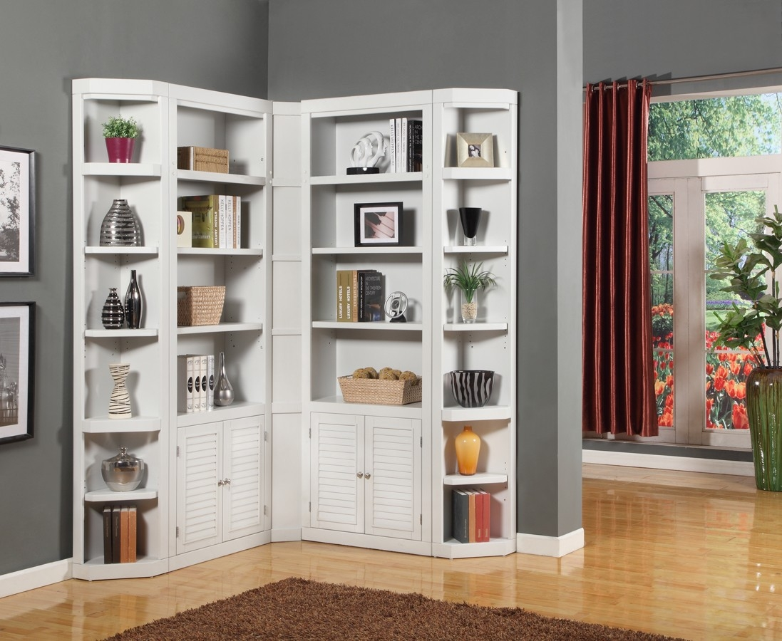 Parker House Boca Library Bookcase Wall Unit Set A Ph Bocwall In Library Bookcase Wall Unit (#11 of 15)