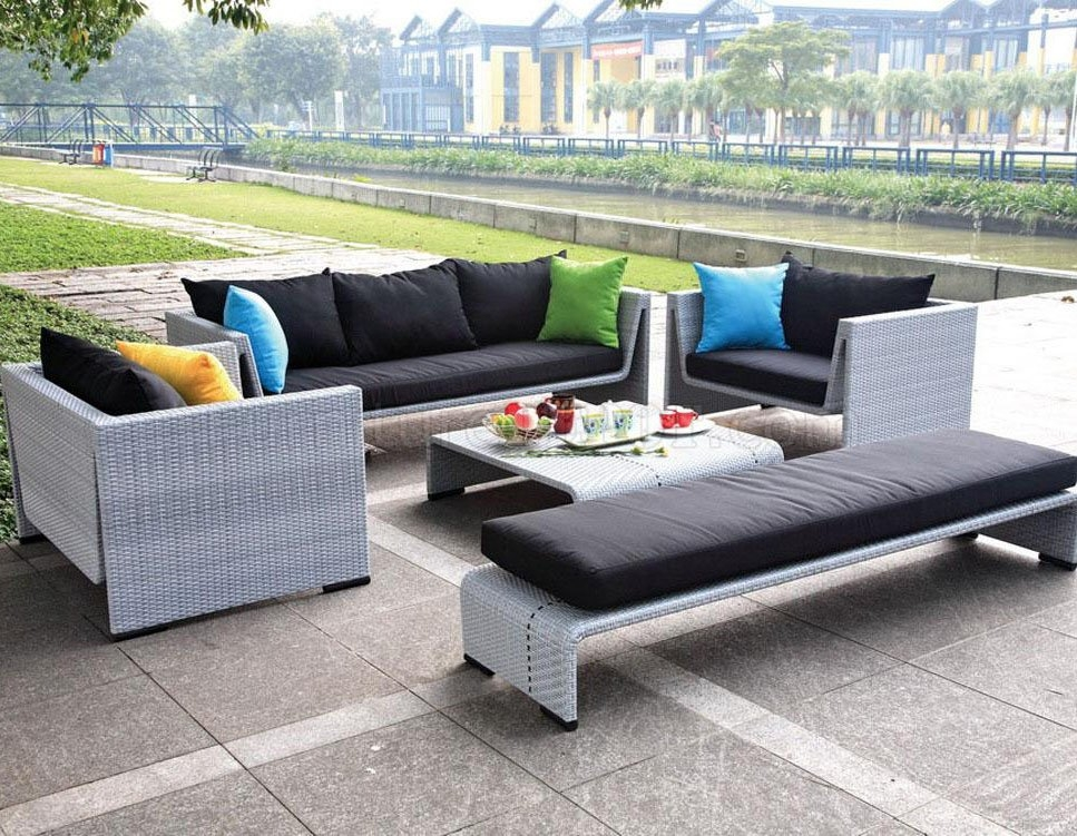Patio Sofa Set Sale Target Patio Decor With Regard To Cheap Patio Sofas (#13 of 15)