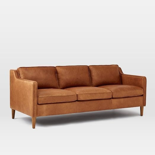 Perfect Light Tan Leather Sofa Tan Sofas Interiorvues Pertaining To Light Tan Leather Sofas (View 11 of 15)