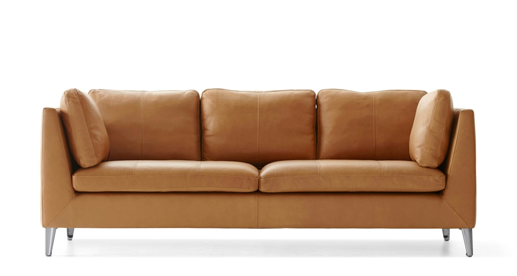 Perfect Light Tan Leather Sofa Tan Sofas Interiorvues With Light Tan Leather Sofas (View 7 of 15)