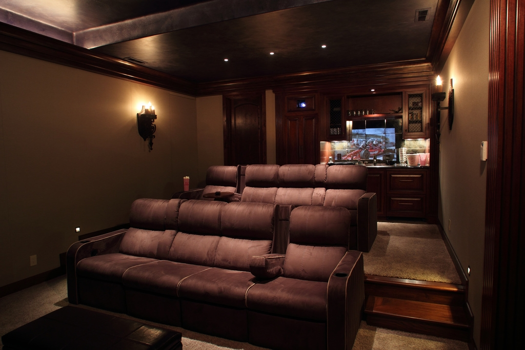 Perfect Theater Room Sofas Media Furniture Sweet False Ceiling Inside Theater Room Sofas (#12 of 15)