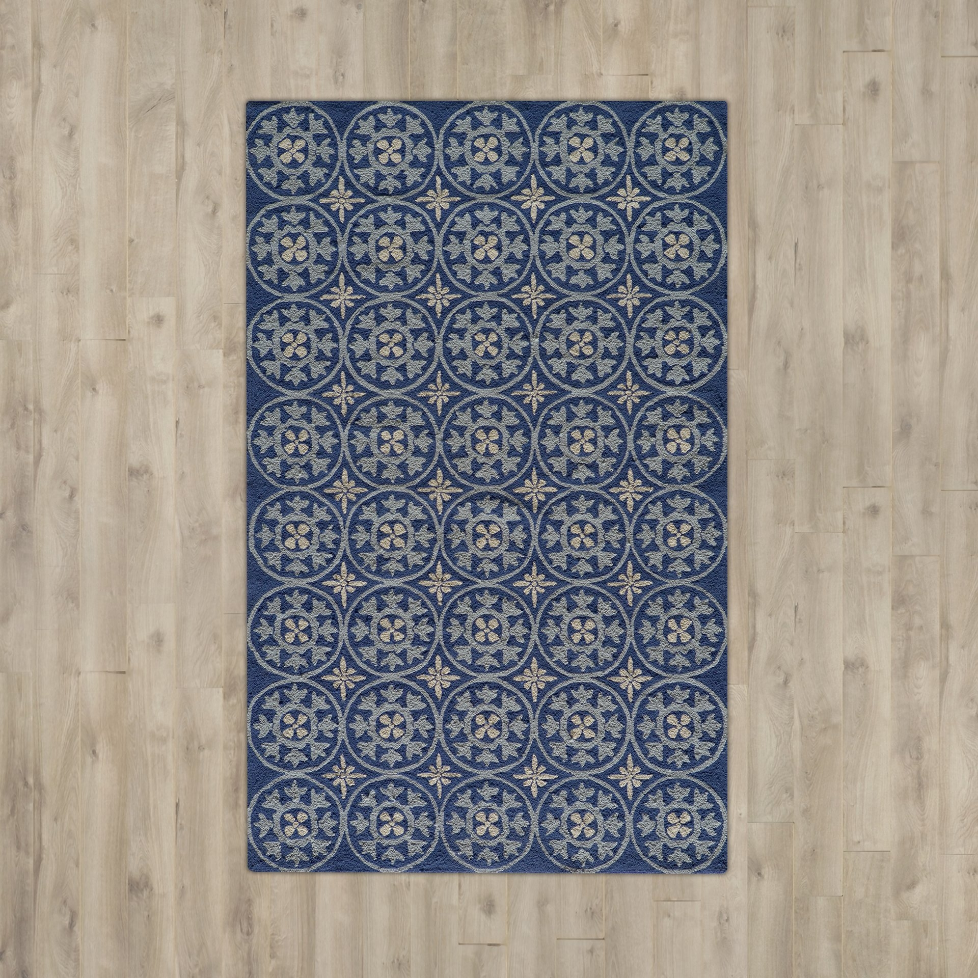 Popular Photo of Hand Hooked Wool Area Rugs