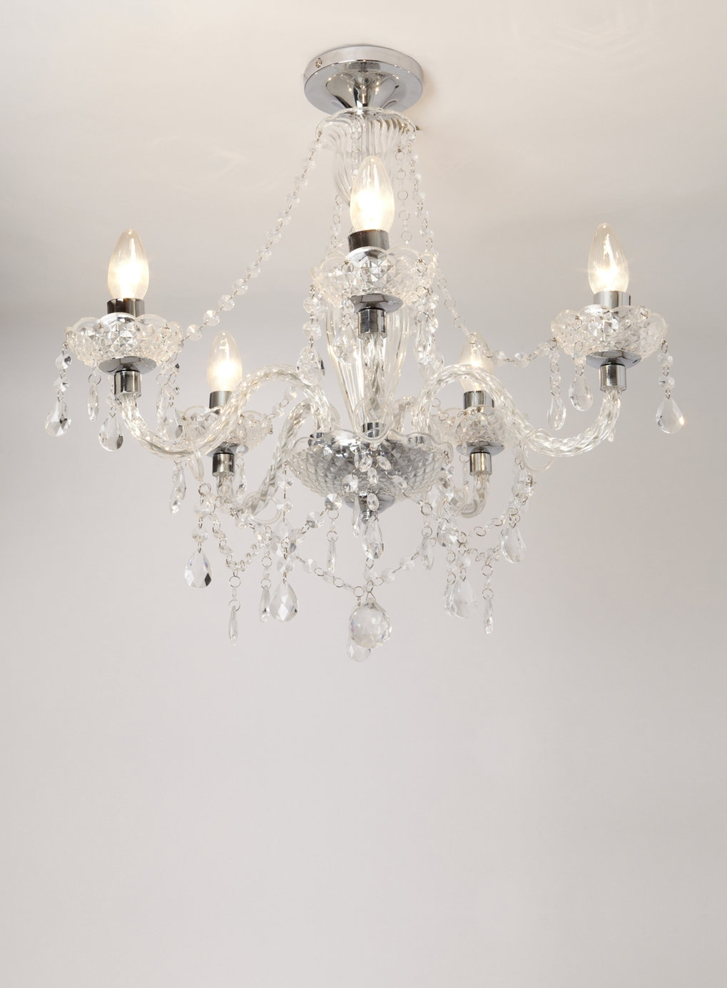 Popular Photo of Flush Chandelier