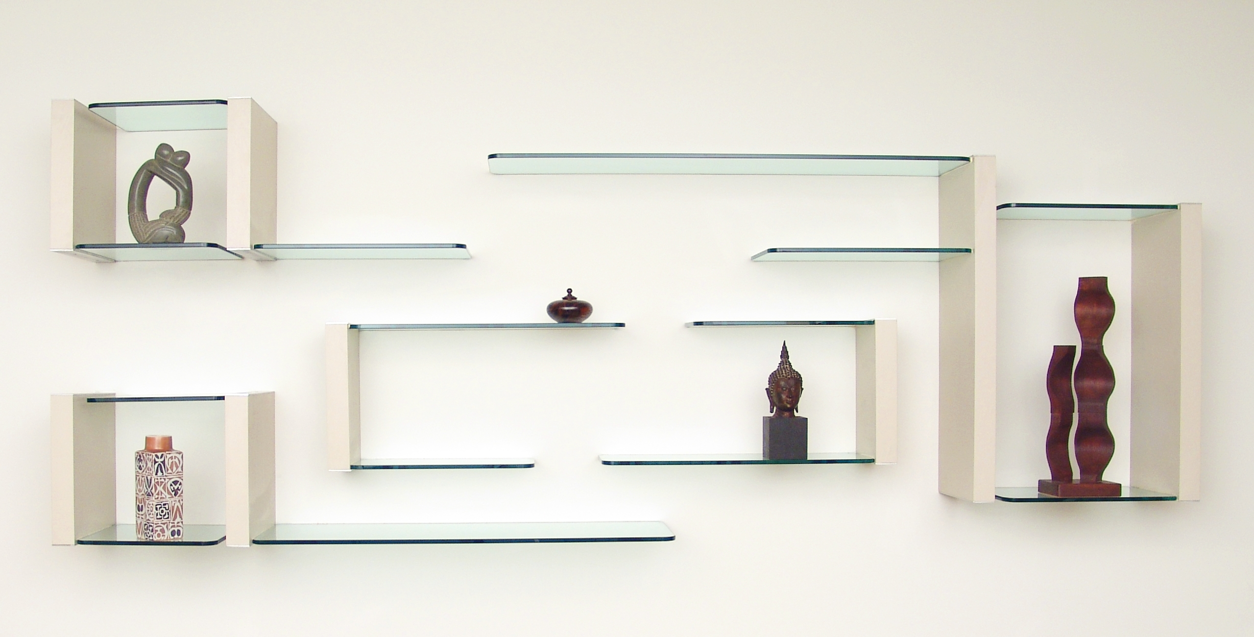 Photo Gallery Glass Shelving For Floating Glass Shelves (#10 of 15)
