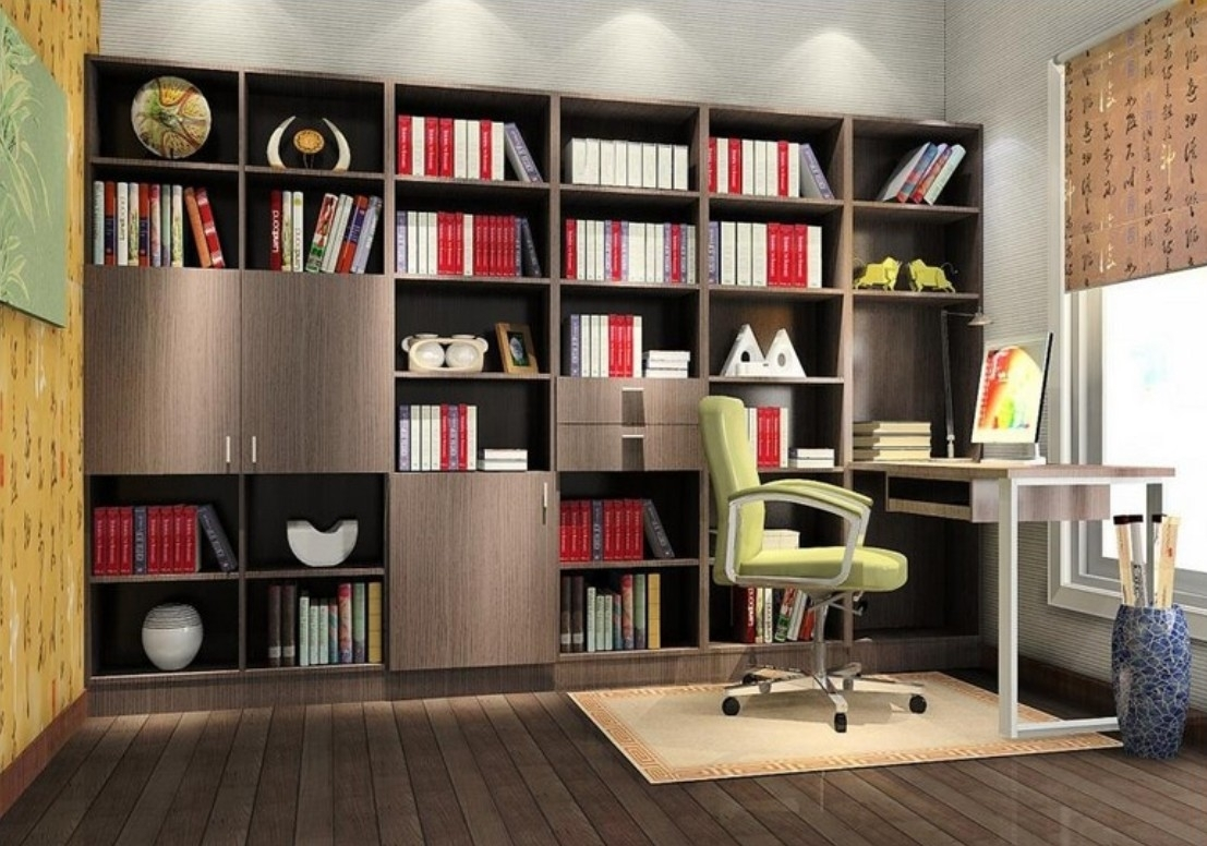 Pictures How To Decorate Study Room Home Remodeling Inspirations Within Study Wall Unit Designs (#13 of 15)