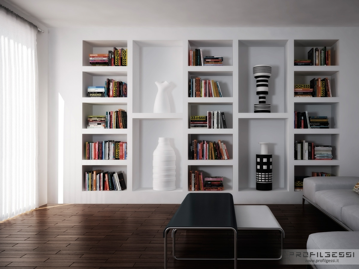 Popular Photo of Shelves On Plasterboard