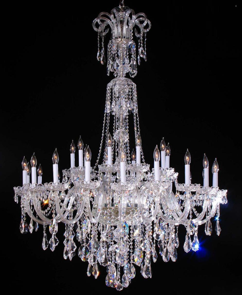 Popular Big Crystal Chandelier Buy Cheap Big Crystal Chandelier With Big Crystal Chandelier (#9 of 12)