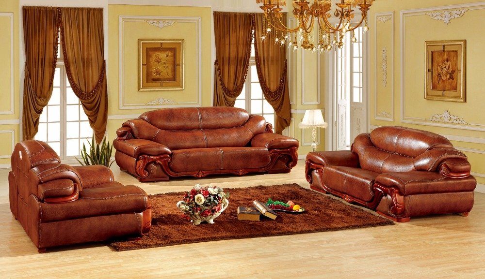 Popular European Sofa Sets Buy Cheap European Sofa Sets Lots From For European Leather Sofas (#14 of 15)