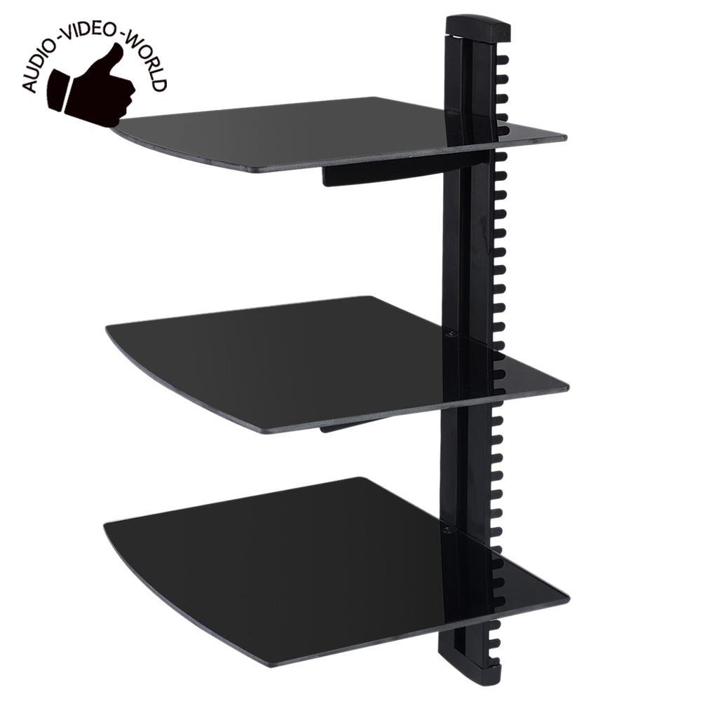 popular floating shelves black buy cheap floating shelves black for black glass floating shelf