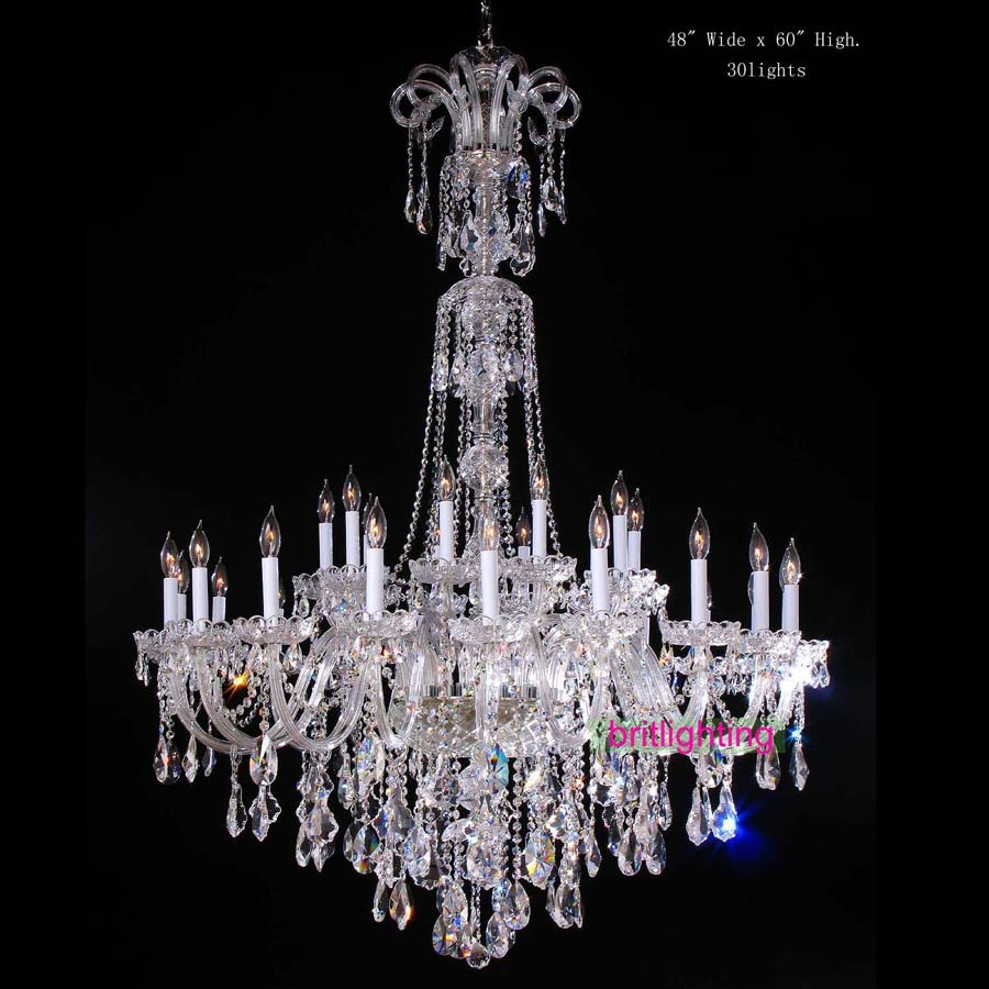 Popular Large Crystal Chandelier Buy Cheap Large Crystal Pertaining To Extra Large Crystal Chandeliers (#11 of 12)