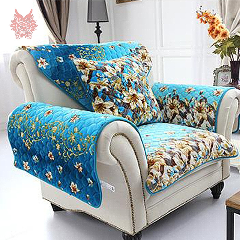 Popular Orange Sofa Cover Buy Cheap Orange Sofa Cover Lots From Pertaining To Teal Sofa Slipcovers (#11 of 15)