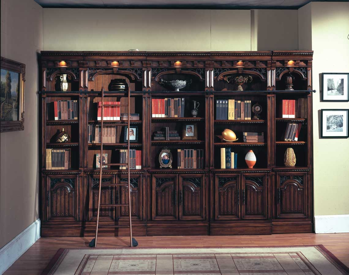 Marvelous Inspiration About Popular Rustic Bookcase New Lighting Ideas For Build A  Rustic Pertaining To Library Bookcase