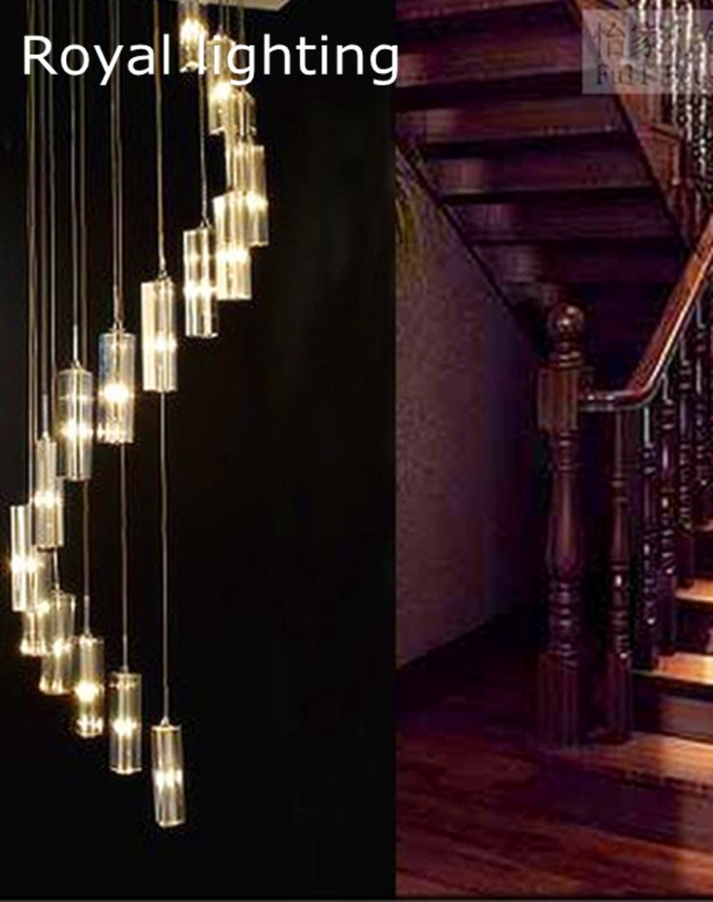 Popular Stairway Chandeliers Buy Cheap Stairway Chandeliers Lots Throughout Stairway Chandelier (#10 of 12)