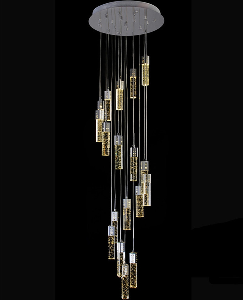 Popular Stairwell Chandelier Buy Cheap Stairwell Chandelier Lots For Stairwell Chandelier Lighting (#8 of 12)