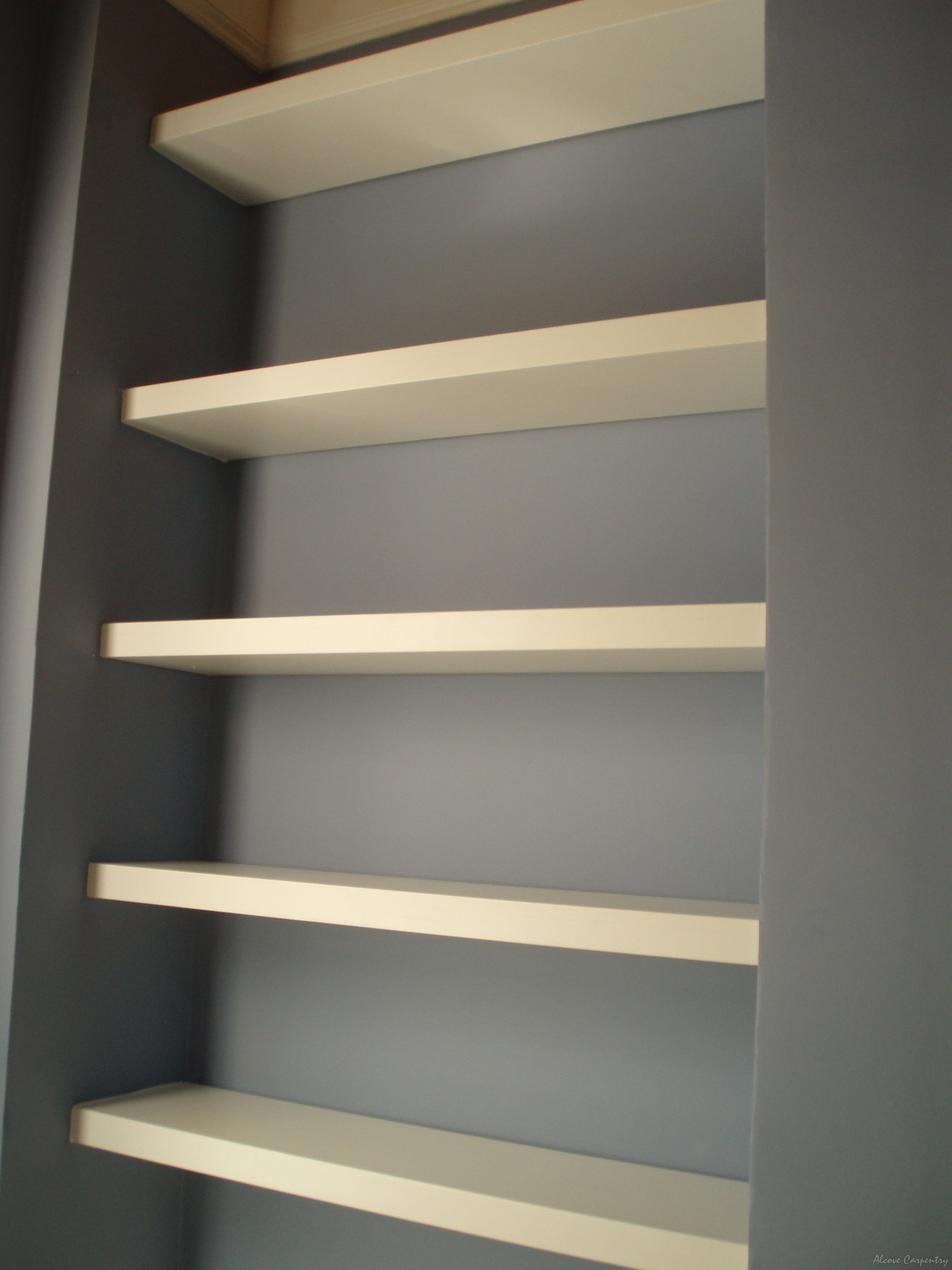 Pricing Alcove Carpentry Throughout Floating Shelves 120cm (#11 of 12)