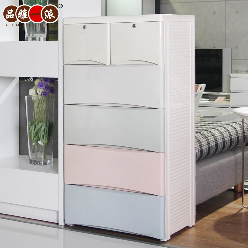 Product Ya Plastics Roof Drawer Storage Cabinets Ba Wardrobe In Wardrobe For Baby Clothes (View 10 of 15)