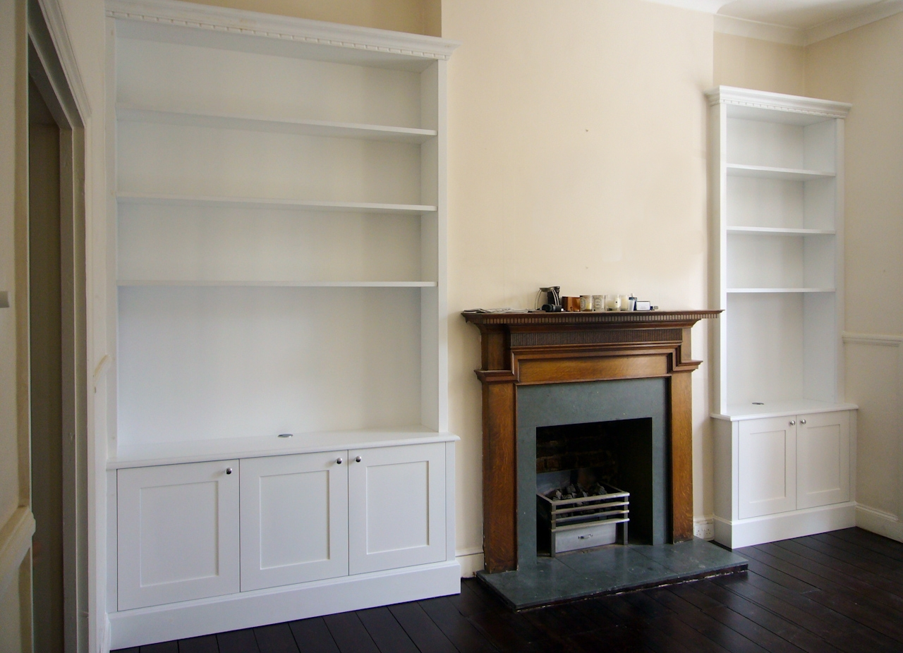 Proline Intended For White Bookcase With Cupboard (View 7 of 15)