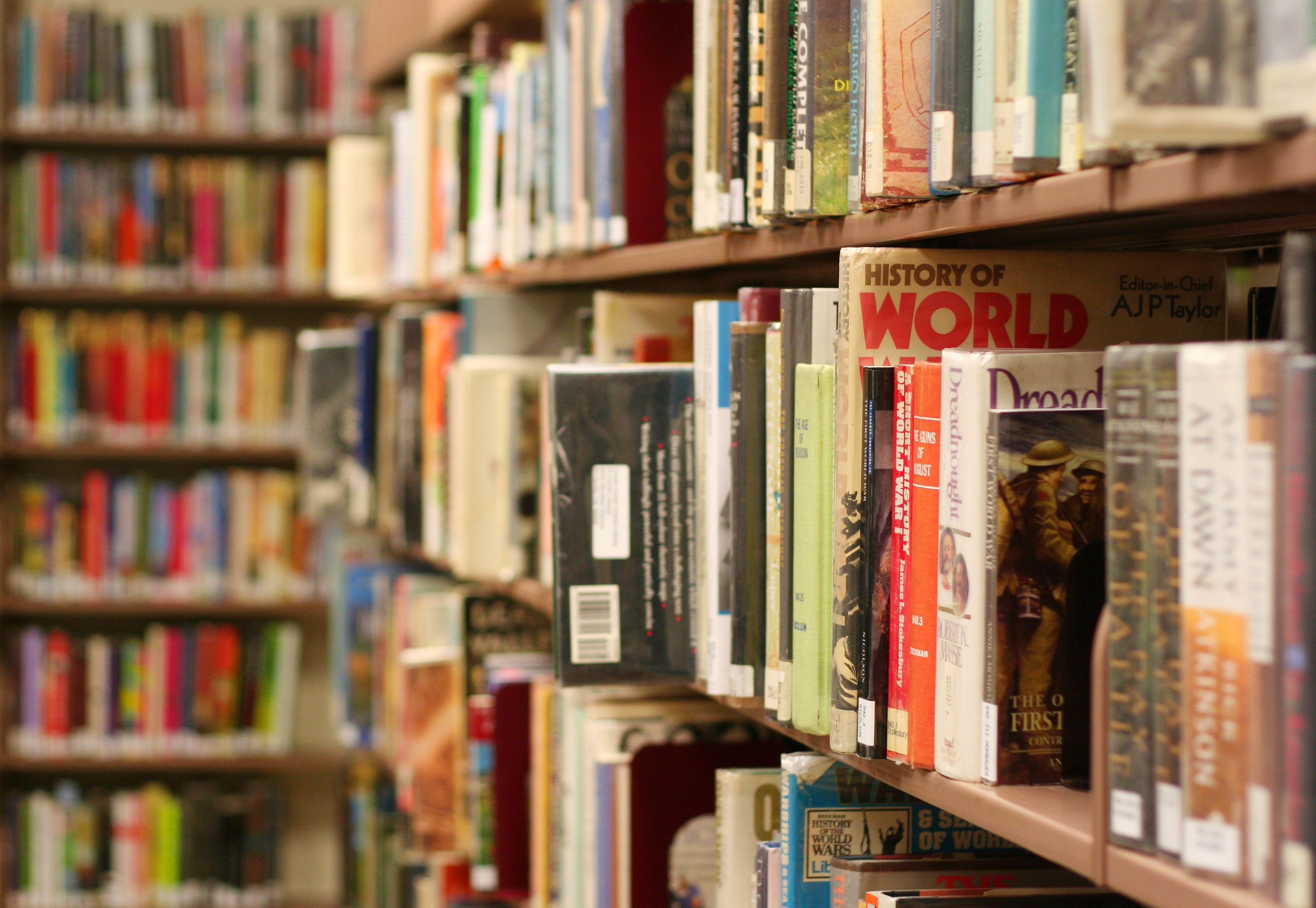 Public Free Stock Photographs And More For Your Blogs Within Library Shelfs (View 11 of 15)