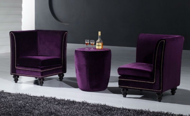 Purple Sectional Sofa Purple Sectional Sofa Suppliers And With Velvet Purple Sofas (#10 of 15)
