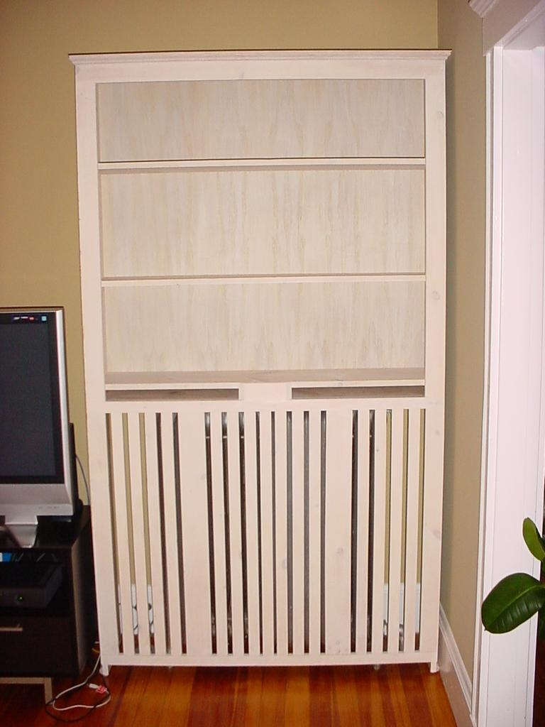 Radiator Cabinet Bookcase Uk Codeminimalist In Radiator Cover And Bookcase (#11 of 15)