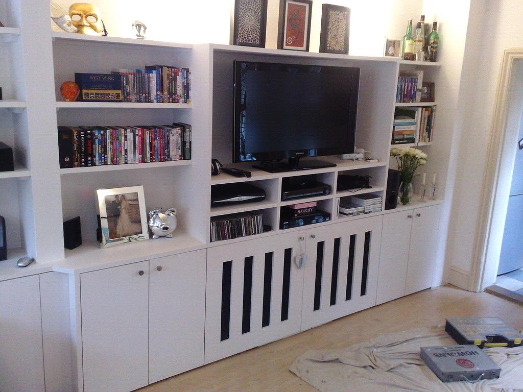 Radiator Furniture Cover Szukaj W Google Wntrza Pinterest With Regard To Bespoke Tv Cabinet (#14 of 15)