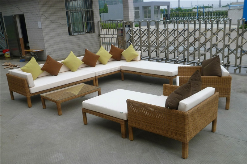 Rattan Modern Sofa Outdoor Furniture Ciaoof For Modern Rattan Sofas (#13 of 15)