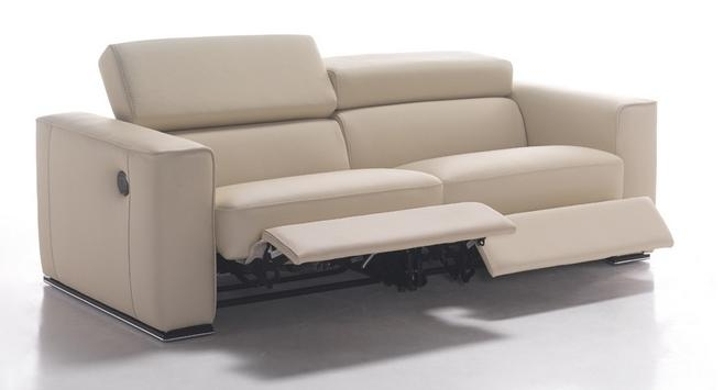 Reclining Sofa Gh 228 Modern Reclining Sofa Electronic Recliners Throughout Modern Reclining Leather Sofas (#15 of 15)