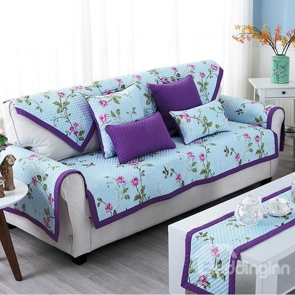 Recommend Non Slip Sofa Couch Covers Slipcover For Sofa With With Sofa Settee Covers (#14 of 15)