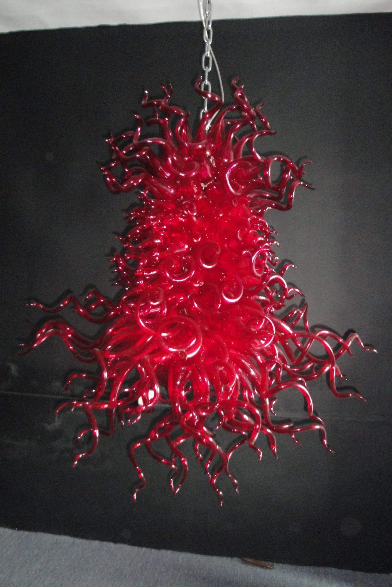 Popular Photo of Modern Red Chandelier