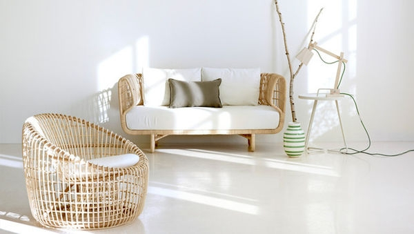Refreshingly Modern Rattan Furniture Nest Collection Cane Line Pertaining To Modern Rattan Sofas (#14 of 15)