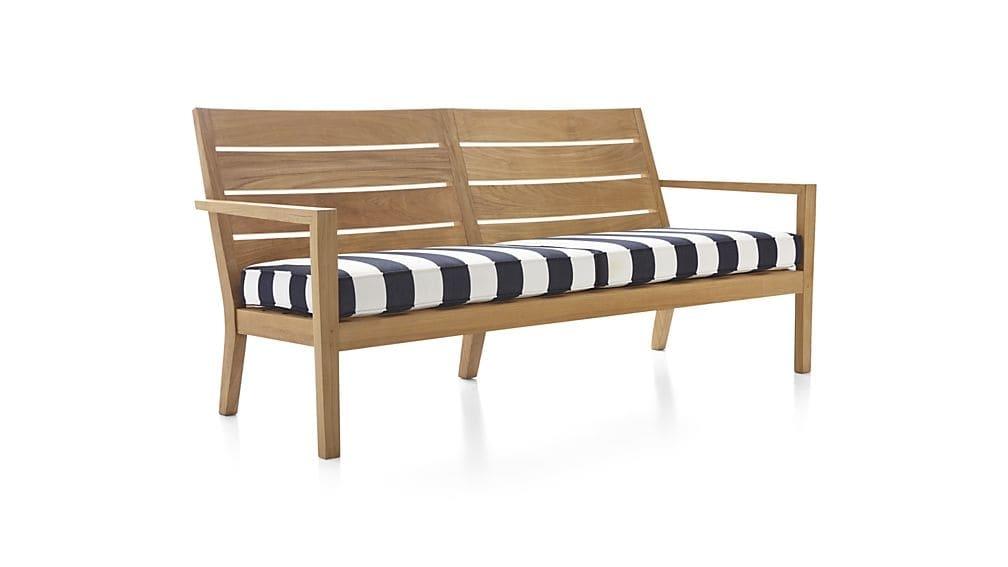 Regatta Sunbrella Sofa Cushions Crate And Barrel Pertaining To Sofa Cushions (#10 of 15)