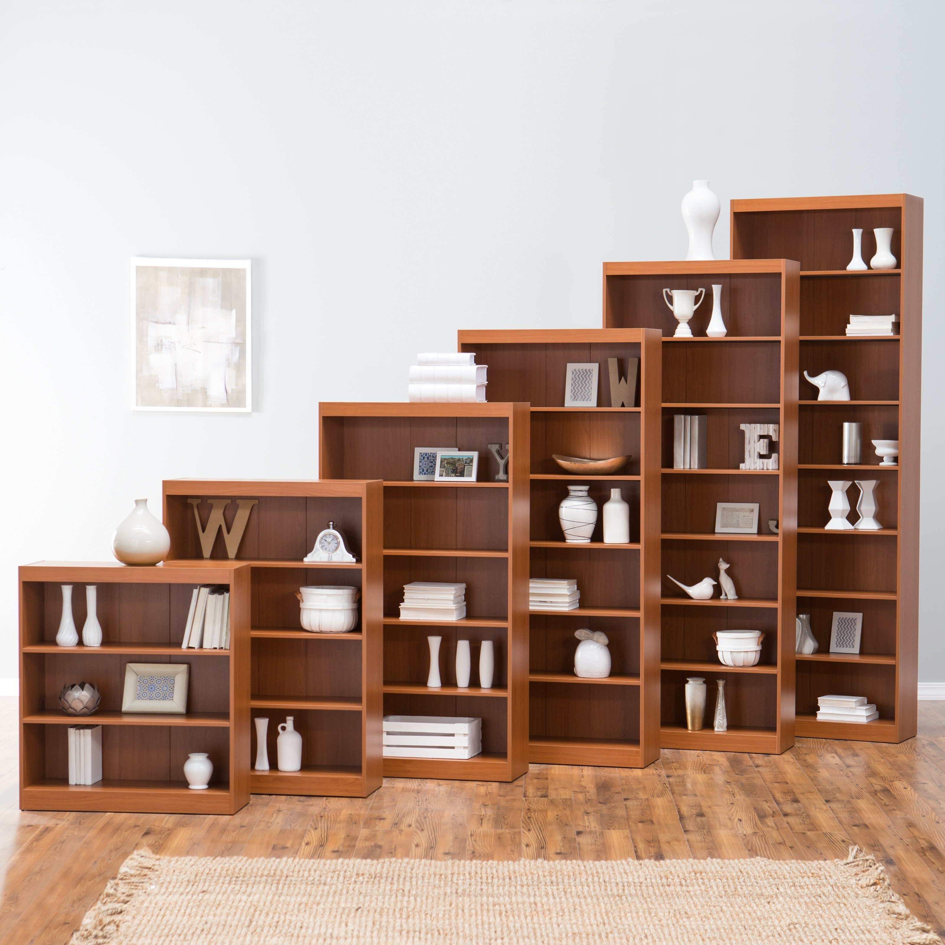 Remmington Heavy Duty Bookcase Oak Bookcases At Hayneedle With Oak Bookcases (View 8 of 15)