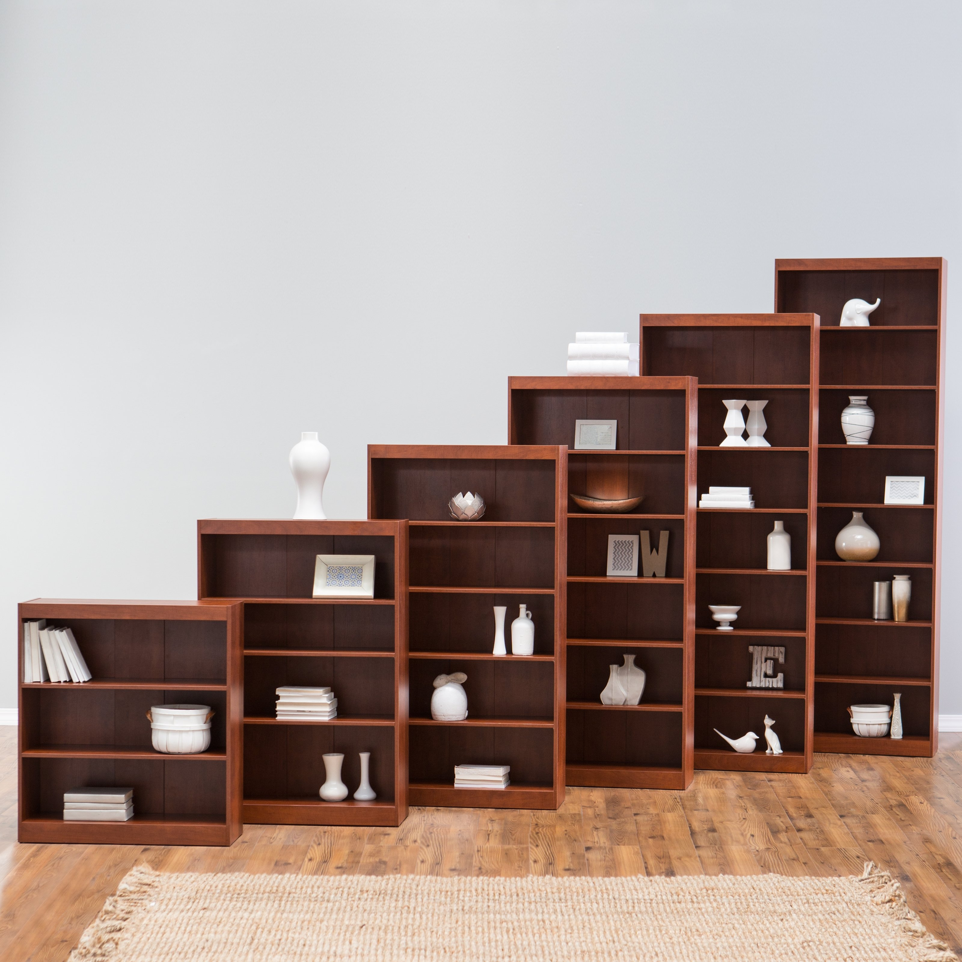 Remmington Heavy Duty Bookcase White Bookcases At Hayneedle Regarding High Quality Bookcases (View 14 of 15)