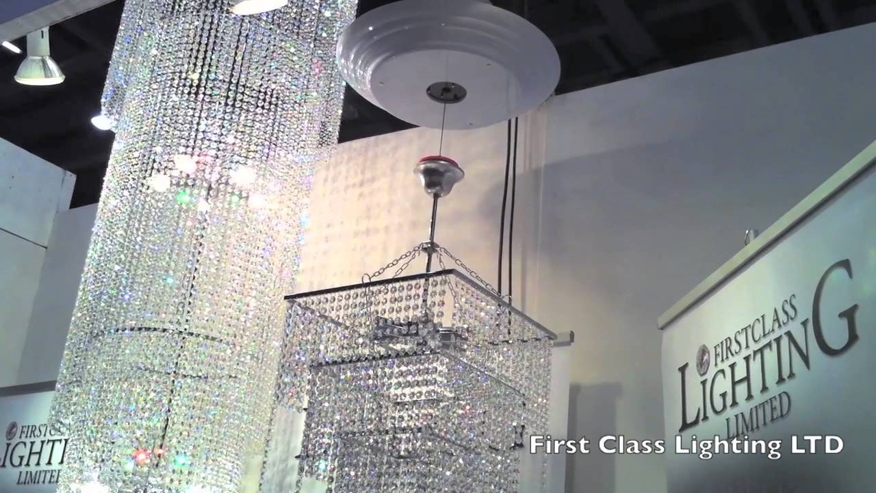 Remote Control Winch For The Chandeliers From First Class Lighting With Remote Controlled Chandelier (#12 of 12)