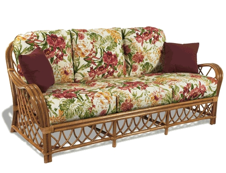 Replacement Cushions For Wicker Sofas Including Lloyd Flanders With Sofa Cushions (#12 of 15)