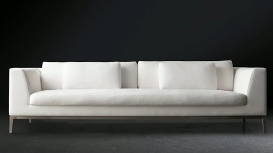 Restoration Hardware Is Going Modern In A Big Way With Rh Modern In Long Modern Sofas (#12 of 15)