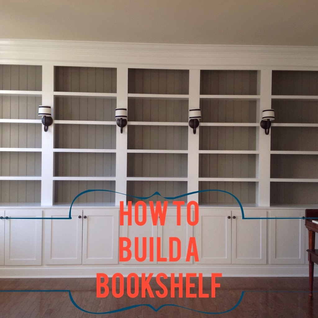 Right Up My Alley How We Built Our Library Bookshelves Pertaining To Built In Library Shelves (#13 of 15)