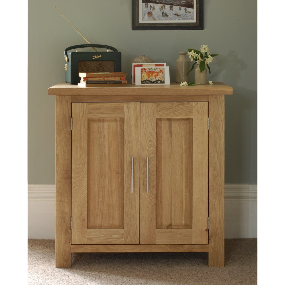 Rivermead Oak Cupboard Including Free Delivery 808823 Pine Pertaining To Small Oak Cupboard (View 14 of 15)