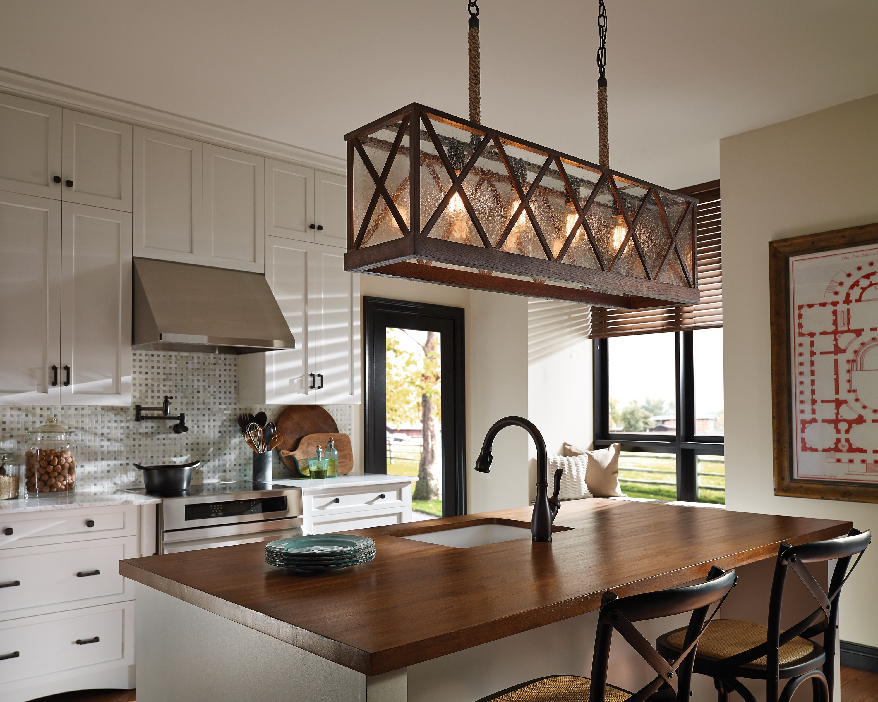 Robinson Lighting Bath Centre Change Your Living Space With Light Intended For Country Chic Chandelier (#11 of 12)