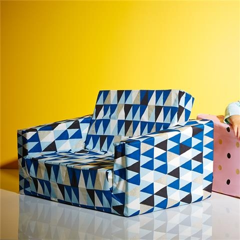 Roomates Geo Flipout Sofa Kmart Boys Gift Ideas Pinterest Within Flip Out Sofa For Kids (View 9 of 15)