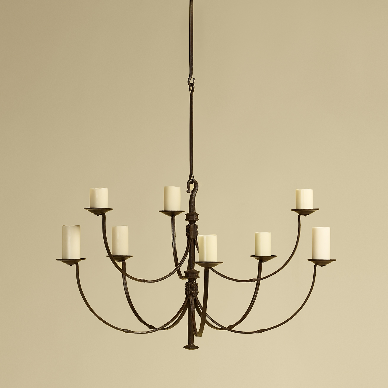 Rose Tarlow Throughout Iron Chandelier (#7 of 12)