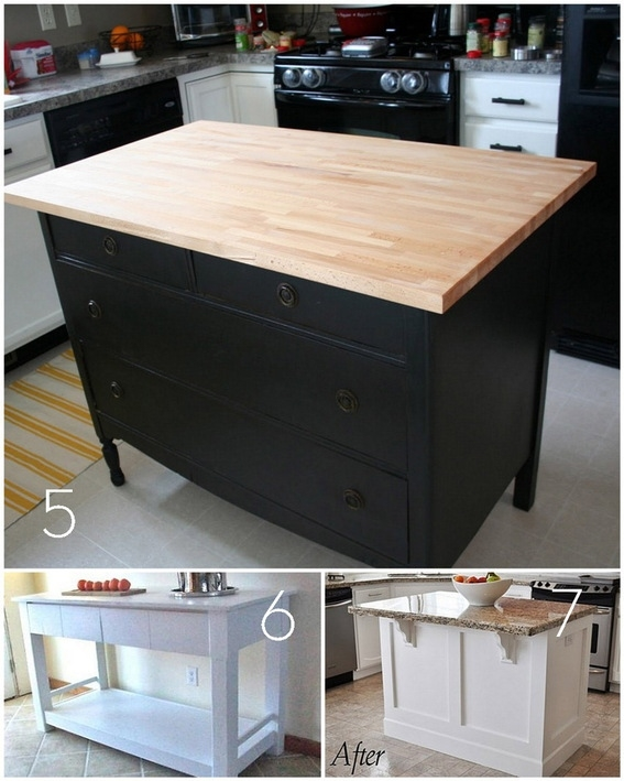 Roundup 12 Diy Kitchen Tables Islands And Cupboards You Can Within Table Cupboards (#14 of 15)