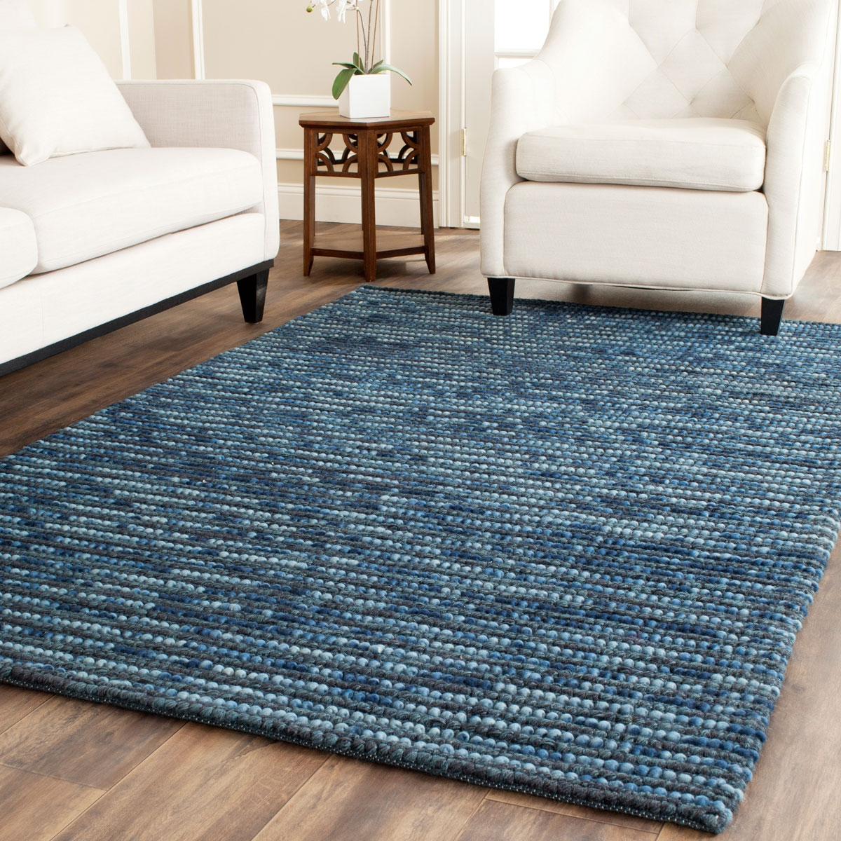 Rug Boh525g Bohemian Area Rugs Safavieh For Blue Wool Area Rugs (#12 of 15)