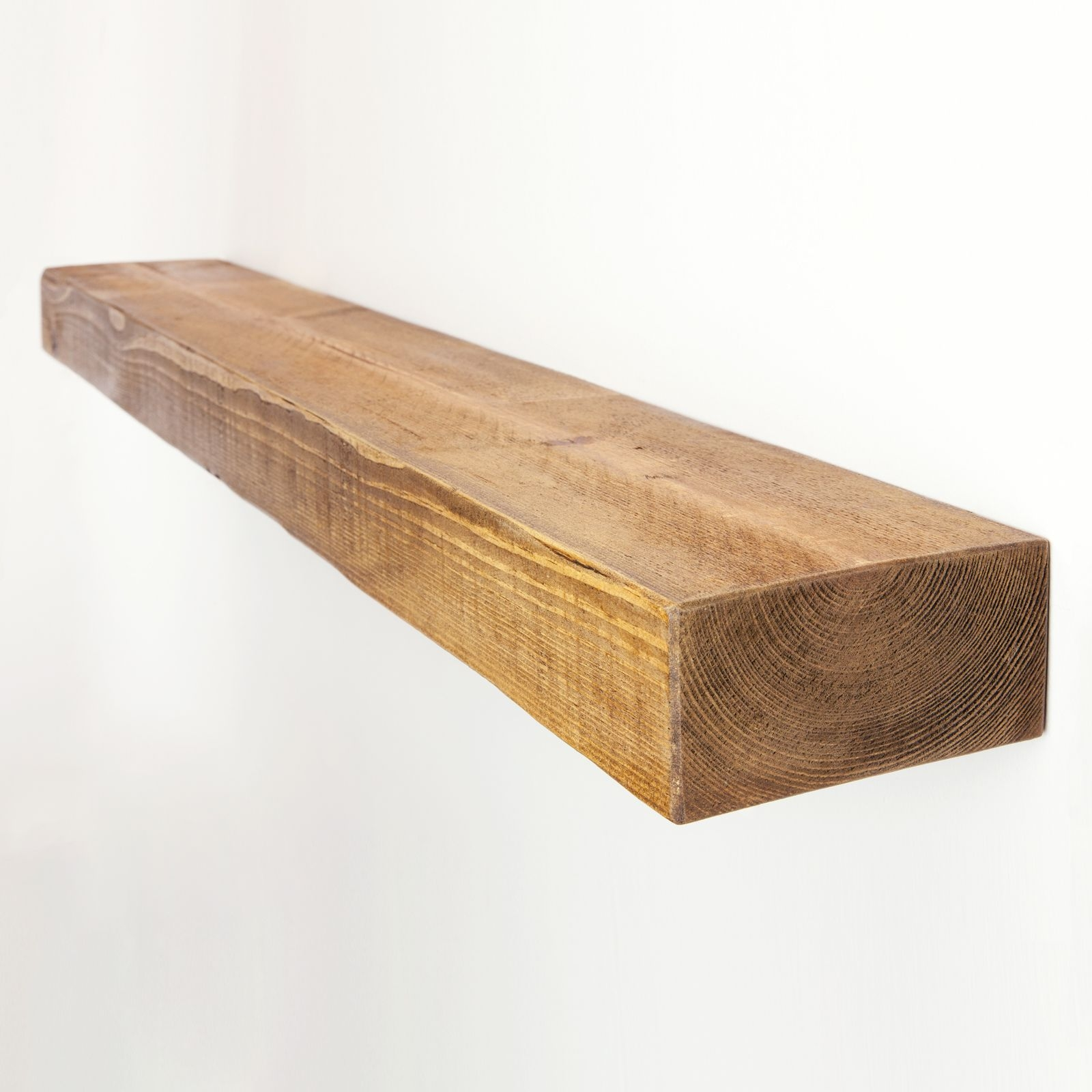 Rustic Floating Shelf 6×3 Solid Pine Funky Chunky Furniture Intended For Floating Shelf 50cm (#11 of 12)