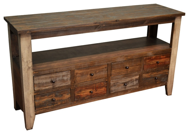 Popular Photo of Sofa Table Drawers