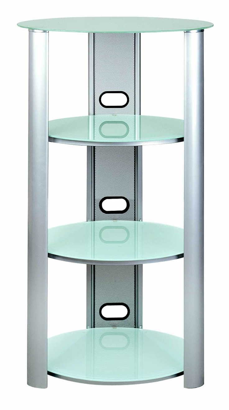 S Hold 8 Three Shelves Audio Racks Tempered Frosted Glass Eye Inside Frosted Glass Shelves (View 12 of 12)